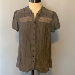 Levi's short sleeve button up shirt